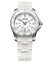 Victorinox Ladies Maverick White Watch White R