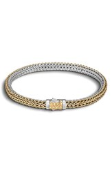 John Hardy Women's 'Classic Chain' Extra Small Reversible Bracelet Gold Silver