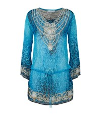 Elizabeth Hurley Beach Fortuna Kaftan Female Multi