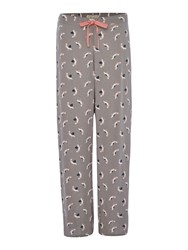 Dickins And Jones Polly Pelican Turn Up Trousers Light Grey