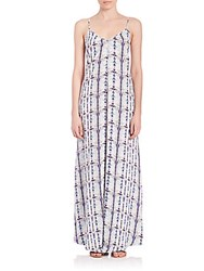 Tart Florence Maxi Dress Grey Multicolor