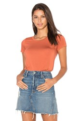 Michael Lauren Tucker Tee Burnt Orange