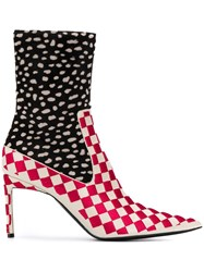 Haider Ackermann Patterned Ankle Boots 60
