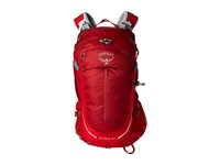 Osprey Stratos 24 Beet Red Backpack Bags