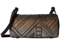 Pendleton Barrel Bag W Strap Tumbling Gems Black Handbags Navy