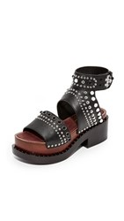 3.1 Phillip Lim Nashville Platform Sandals Black