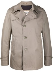 Herno Single Breasted Trench Coat 60