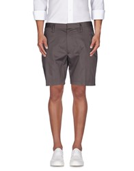 Marc By Marc Jacobs Trousers Bermuda Shorts Men Dark Purple