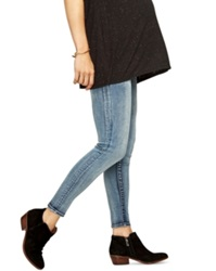A Pea In The Pod Luxe Essentials Maternity Ankle Skinny Jeans Vintage Wash