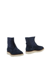 Raparo Ankle Boots Dark Blue