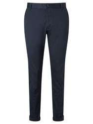 Samsoe And Samsoe Brady Stretch Chino Trousers Total Eclipse