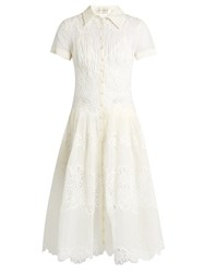 Zimmermann Winsome Sunday Broderie Anglaise Dress White