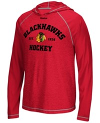 Reebok Men's Chicago Blackhawks New Traditions Lightweight Hoodie Red