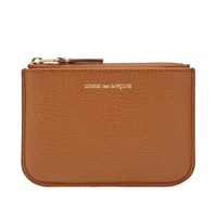 Comme Des Garcons Sa8100 Colour Inside Wallet Brown