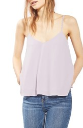 Topshop Women's Rouleau Swing Camisole Lilac