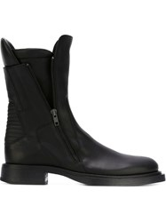 Ann Demeulemeester Side Zip Boots Black