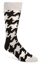Happy Socks Men's Digital Houndstooth