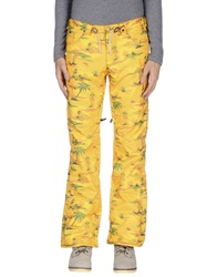 Analog Casual Pants Yellow