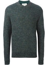 Stephan Schneider Open Knit Sweater Green