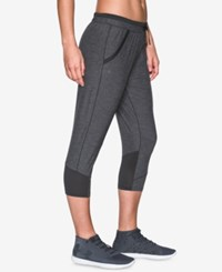 Under Armour Cropped Pants Black Heather