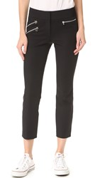 Veronica Beard Roxy Ankle Length Pants Black