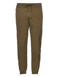 Vince Zip Cuff Cotton Blend Track Pants