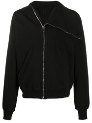 Rick Owens Drkshdw Side Zip High Collar Jacket 60