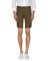 Franklin And Marshall Trousers Bermuda Shorts Men Military Green