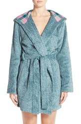 Women's Jane And Bleecker New York Plush Flannel Robe