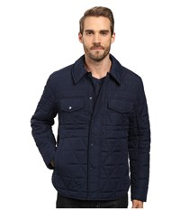 Marc New York By Andrew Medford Poly Fill Shirt Jacket Ink Navy