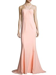 Likely Seminole Halterneck Solid Dress Ballet Pink