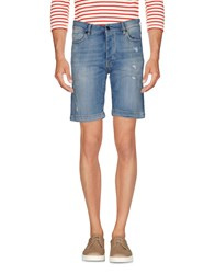Individual Denim Bermudas Blue