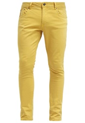 Your Turn Slim Fit Jeans Dark Yellow