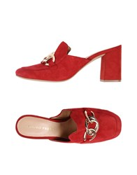 Bruno Premi Mules Red