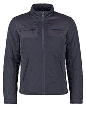 Teddy Smith Bowary Light Jacket Dark Navy Dark Blue
