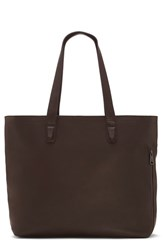 Vince Camuto Men's 'Tolve' Leather Tote Bag Brown Tmoro