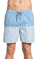 Men's Imperial Motion 'Zuric' Colorblock Print Swim Trunks
