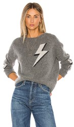 Rails Virgo Cashmere Blend Sweater In Gray. Bolted
