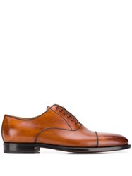 Kiton Classic Oxford Shoes Brown