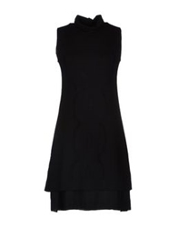 Andrea Morando Short Dresses Black