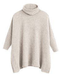 Sandwich Oversized Jumper Beige