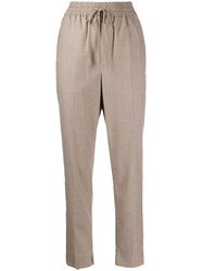 3.1 Phillip Lim Slim Fit Tapered Trousers Grey