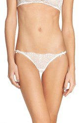 For Love And Lemons Women's Daffodil Lace Panty