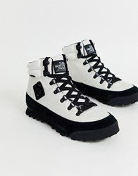 The North Face Back 2 Berkeley Boots In White Black