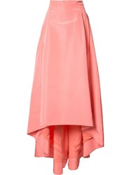 Carolina Herrera Asymmetric Full Skirt Pink Purple