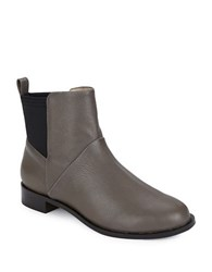 Matt Bernson Harper Leather Booties Ash Grey