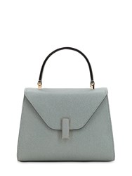 Valextra Mini Iside Grained Leather Bag Polvere