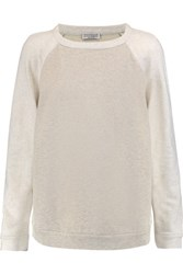 Brunello Cucinelli Cotton Sweatshirt Light Gray