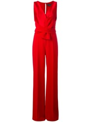Max Mara Everest Jumpsuit Red