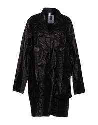 Dosa Overcoats Black